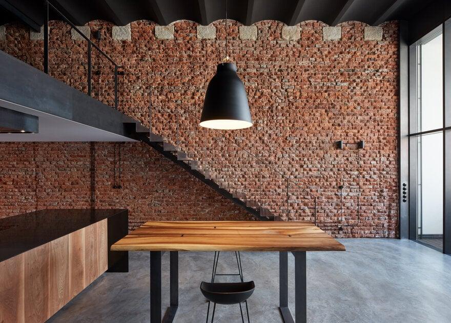 Moderner Industriedachboden in Prag, Tschechische Republik von CMC-Architekten