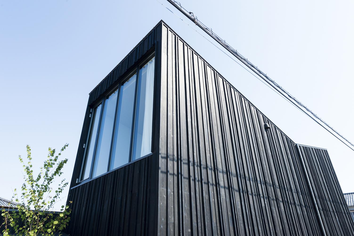 Courtyard House in Peach Garden in Niigata by Takeru Shoji Architects