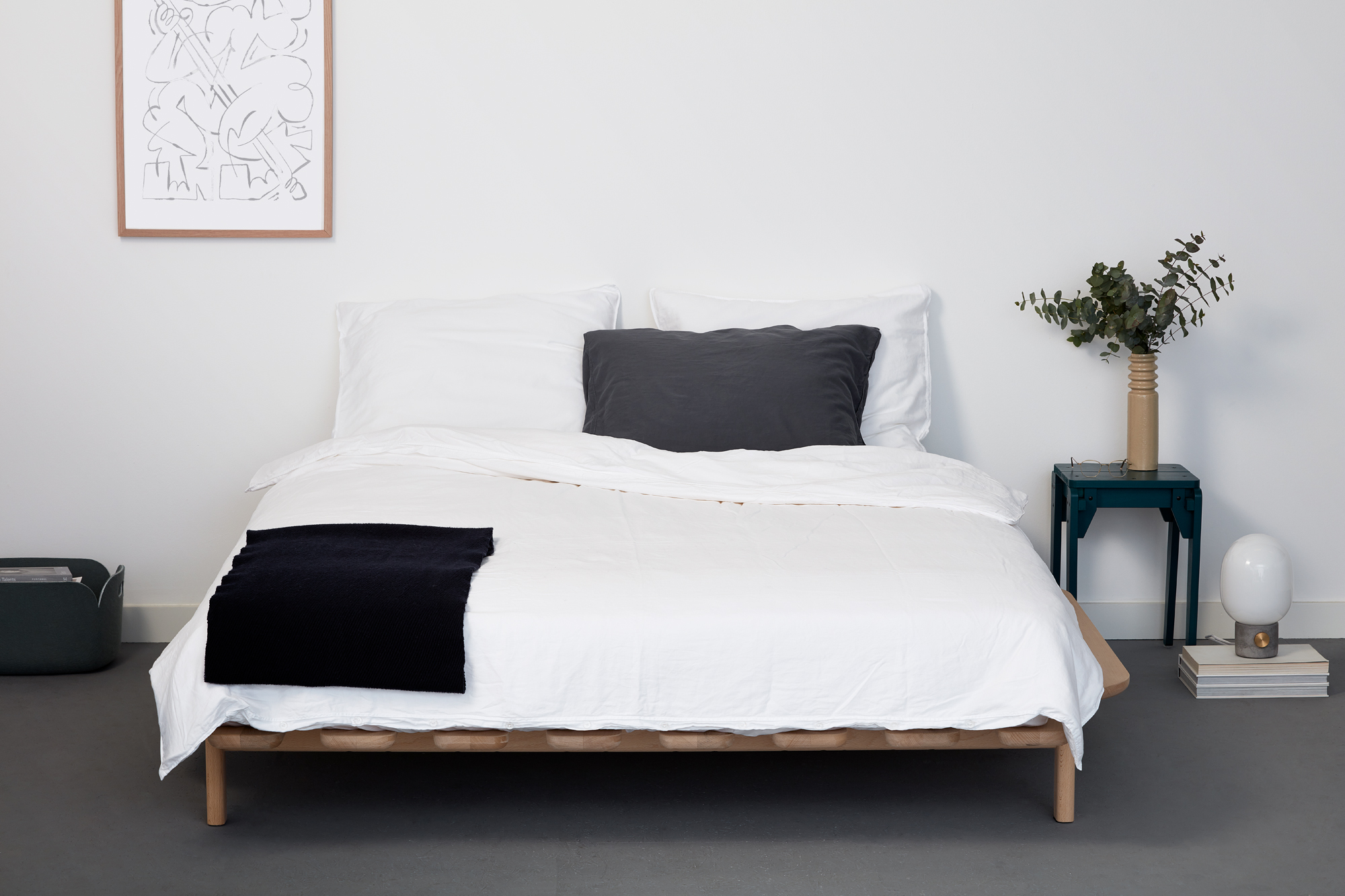 Modest Bed by Justin Jorissen for Loof