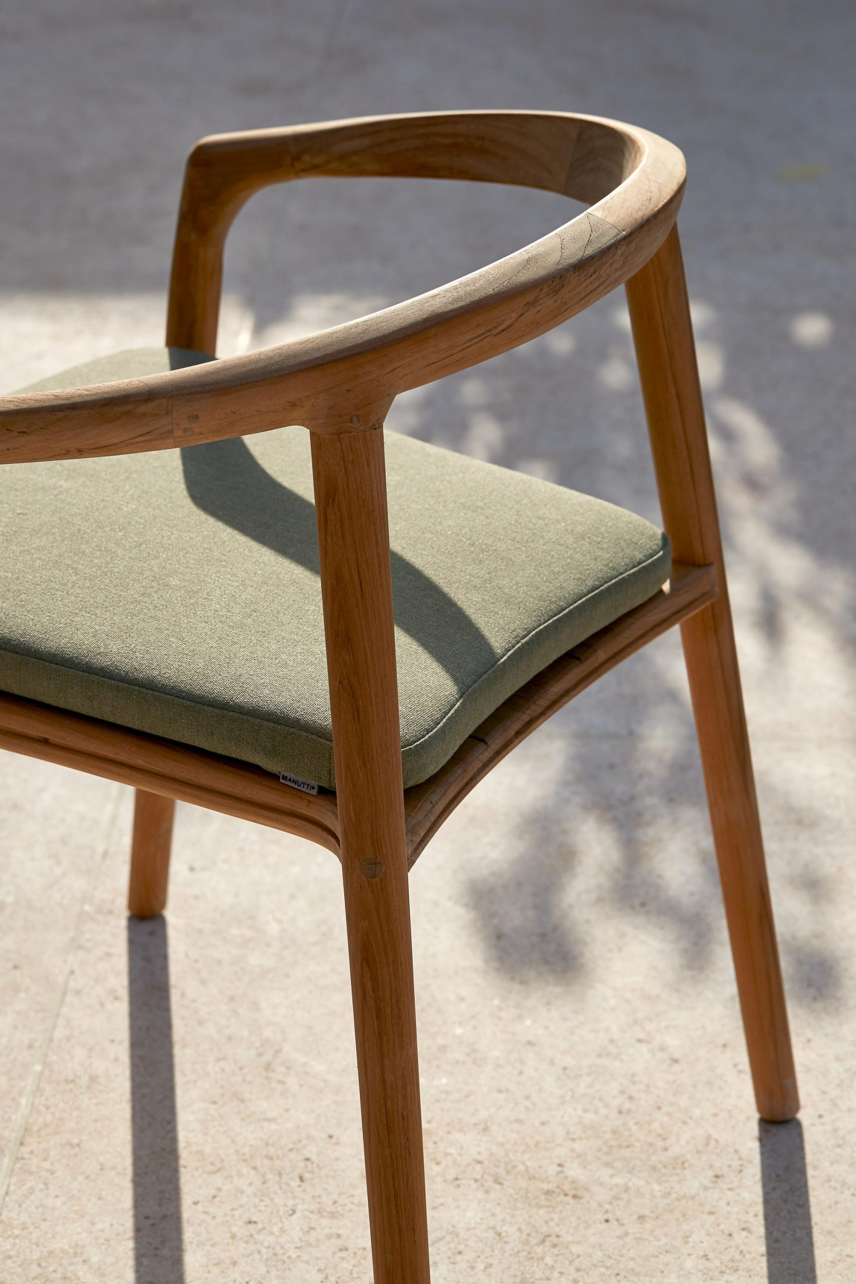 Solid Armchair by Manutti