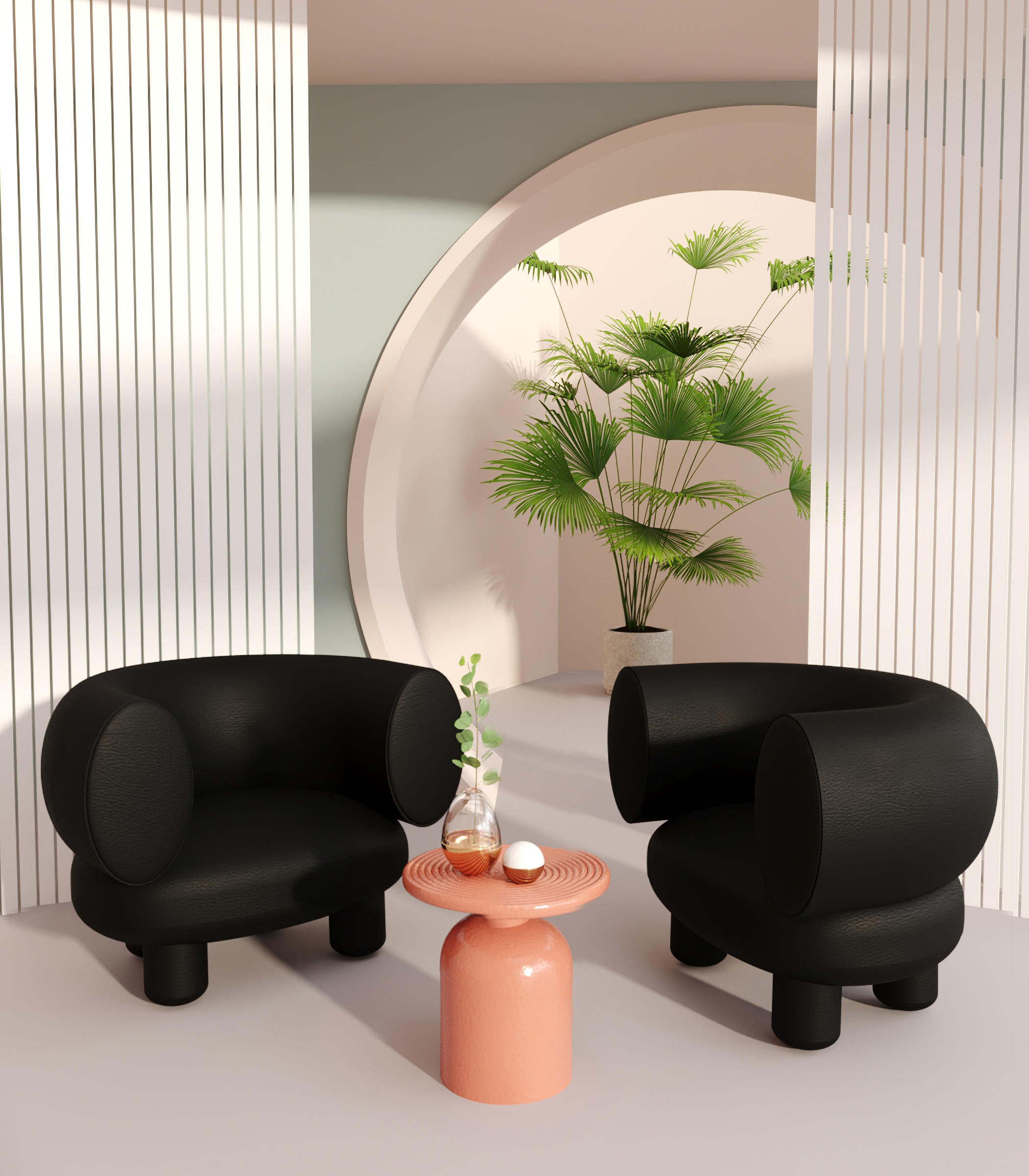 Sumo Armchair by Maison Dada