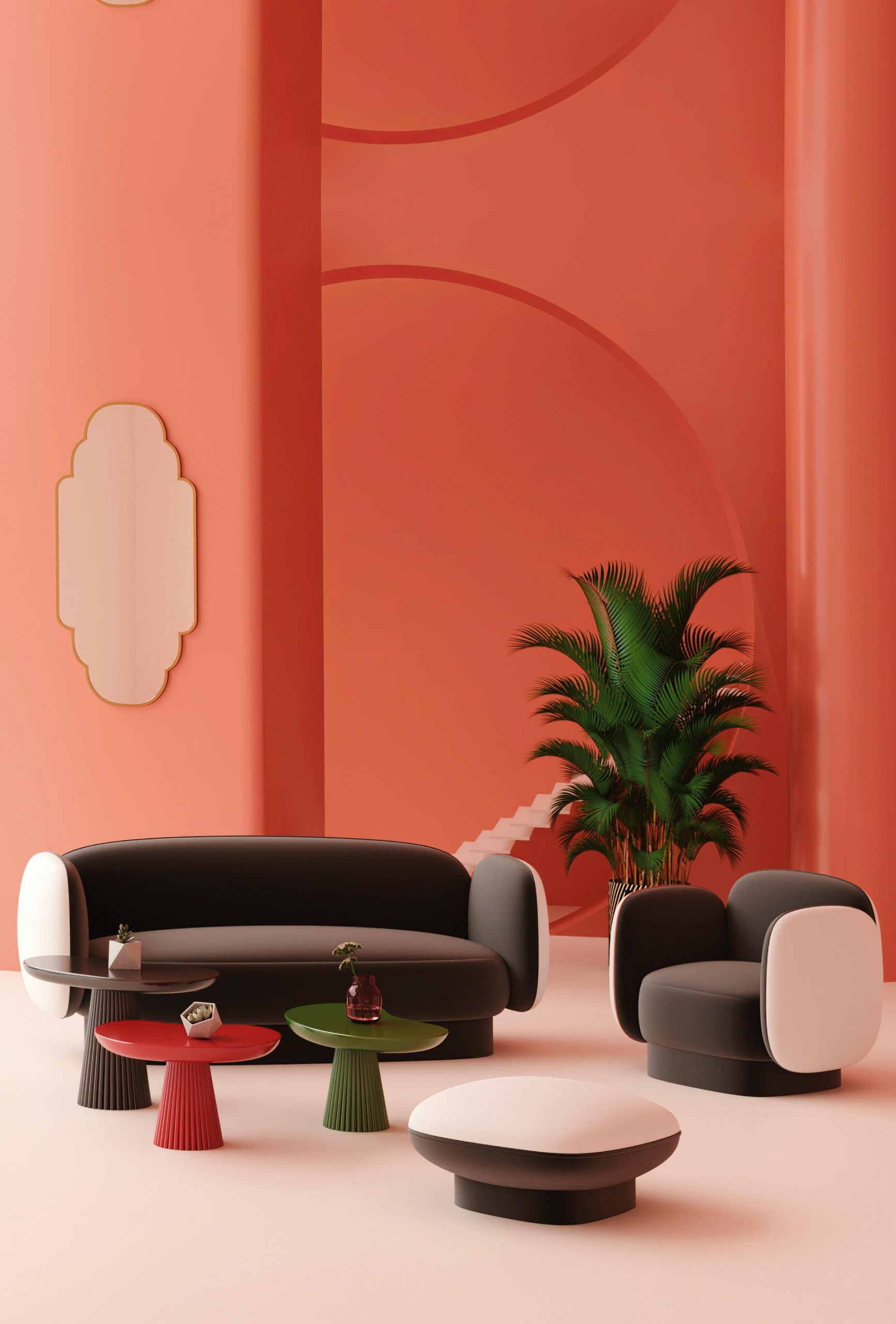 Major Tom Seating Collection by Thomas Dariel for Maison Dada