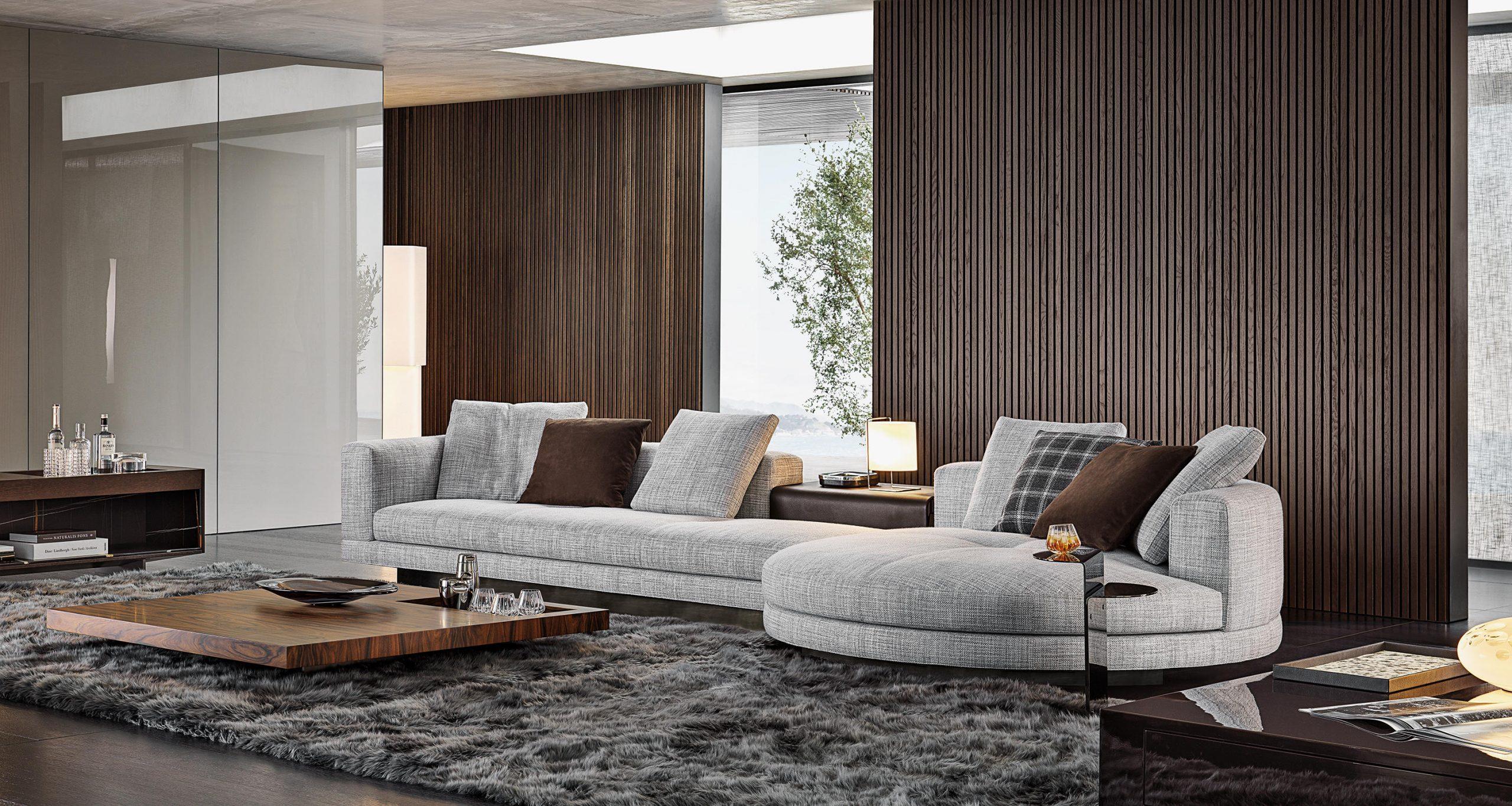 Connery Modular Sofa by Minotti