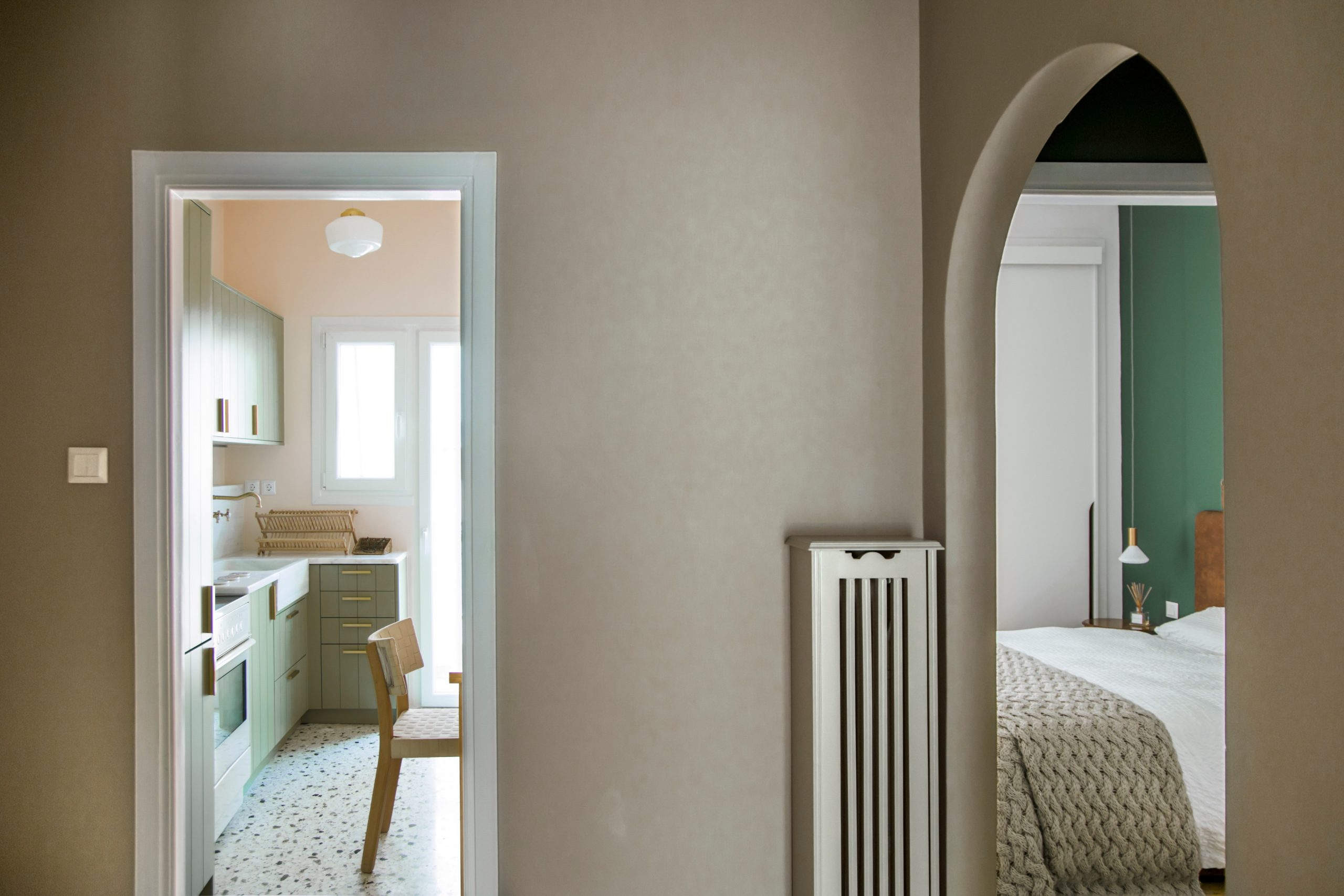 Renovation of a 1977 Apartment in Athens, Greece by Evelyn Chatzigoula