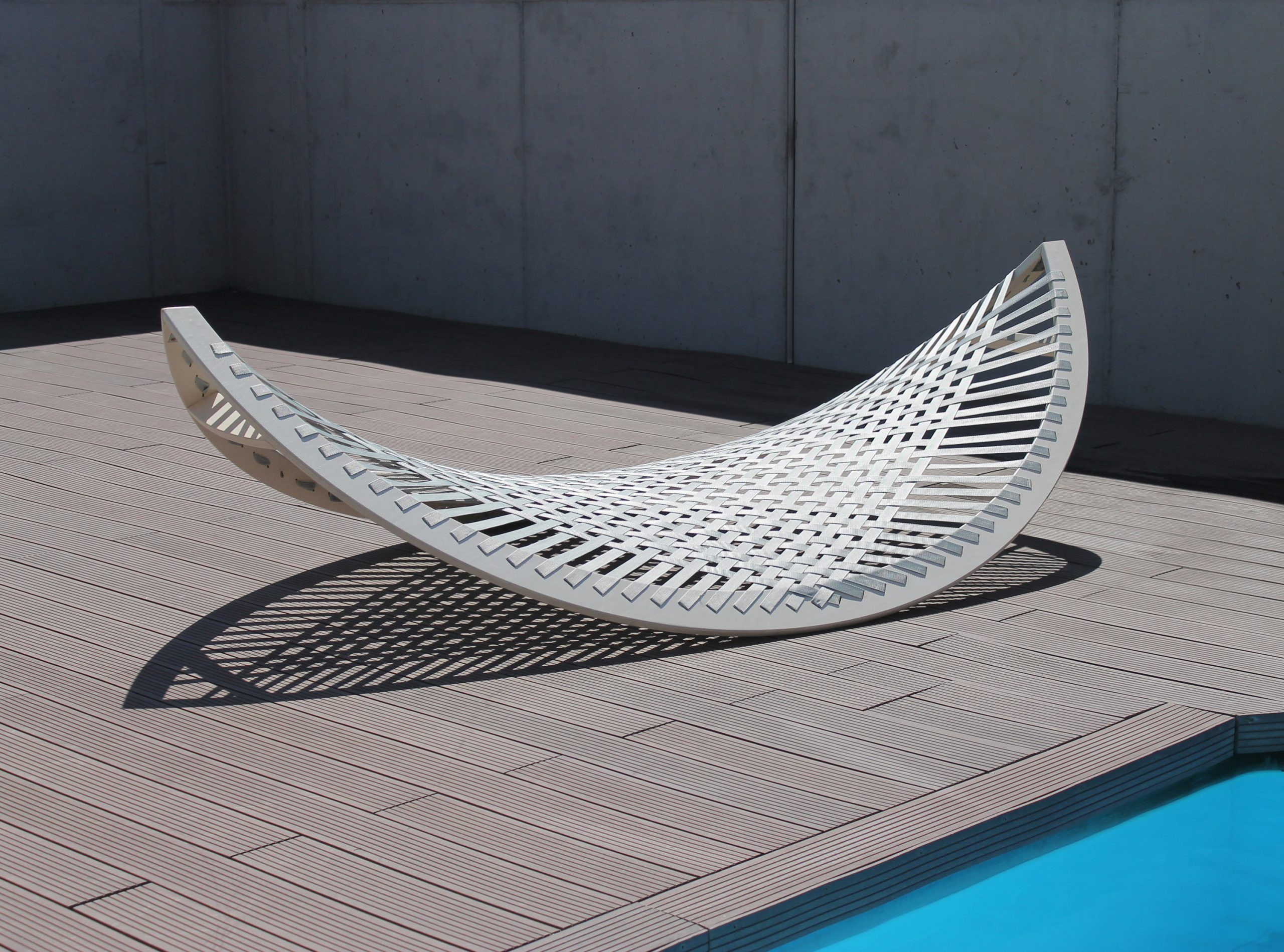 Panama Banana Lounger by Agota Rimsaite for Aggy